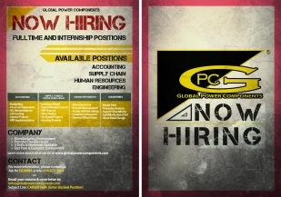 GPC Recruiting Postcard