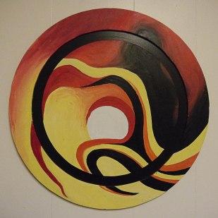 Acrylic on Wood Panel